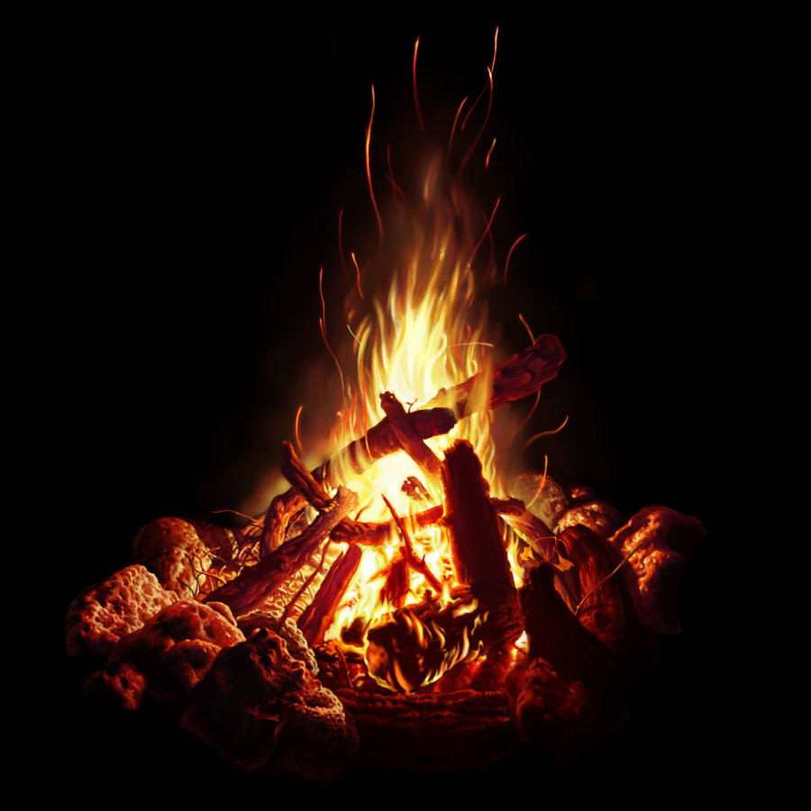 campfire_study_by_bpuig-d5o1yod